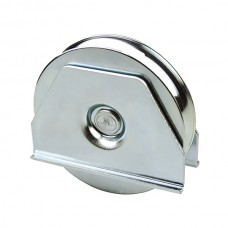 Wheel with welded support ØD 120 round channel of 20.