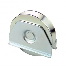 Wheel with weldable support ØD 100 angular channel.