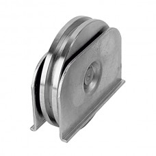 Wheel with weldable support ØD 100 square channel.