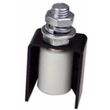 Nylon finger protection guide rollers.