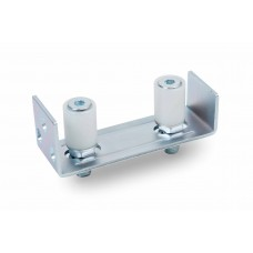 Adjustable support with 2 nylon guide rollers 30x40.