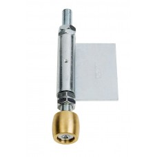 Olive lower guide 28 with welded side hinge blade 45 Zinc plated