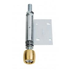 Olive lower guide 28 with side hinge, screw on shovel 45 Zinc plated