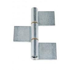 3-body hinge 180x100 weld polished plate
