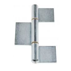 3-Body Hinge 180x110 Welding Polished Sheet Metal