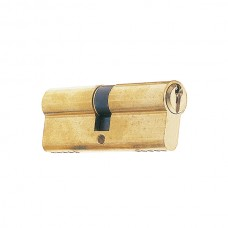1/2 Euro profile cylinder 40 30+10 serrated nickel.