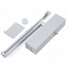 Non-locking hydraulic door closers, intensive use of force 2-6 Silver.
