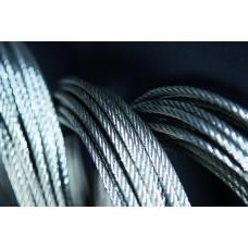 CABLES 6 m/m GALVA 100 MTS 6X37+1 COMPOSICION ESP