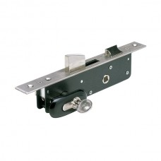 30 stainless steel latch and toggle lock.