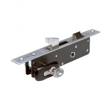 """30"""" stainless steel latch and hook lock."""