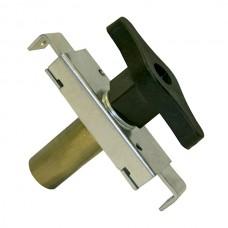 Overhead door lock, cylinder length 50.