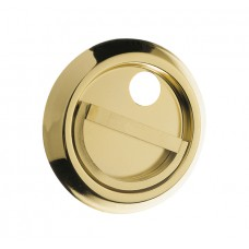 """Shield superimposed on stainless """"gold""""."""