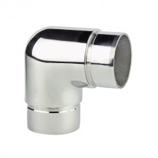 AISI 316 stainless steel 90º angle joint.