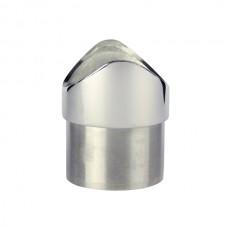 APOYO TUBO ALTO DE 50,8X50,8x16,5 INOX 316