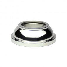 Base cover made of 43 AISI 316 stainless steel.