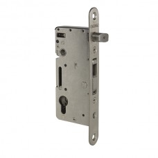 Sliding stainless steel mortise lock and hook of 60.