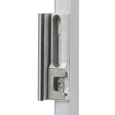 Mixed locking system for square tube with anti-leverage system.
