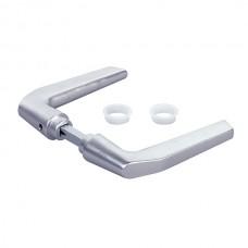 Solid aluminium handle set.
