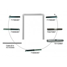 KIT CABLE EJEMPLO Nº1 CABLE 4 MM.