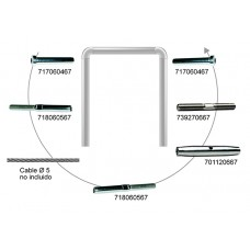 KIT CABLE EJEMPLO Nº1 CABLE 5 MM.
