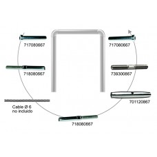 KIT CABLE EJEMPLO Nº1 CABLE 6 MM.