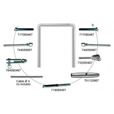 KIT CABLE EJEMPLO Nº11 CABLE 4 MM.