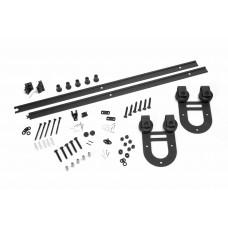 Complete Barn Sliding Door Kit DOUBLE Model