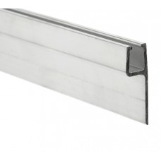 Aluminium profile with rubber support 3m type h