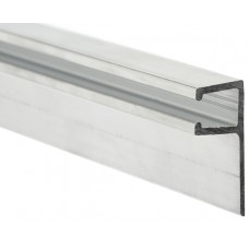 Aluminium profile with rubber support 3m type F