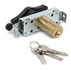 Up-and-over door lock