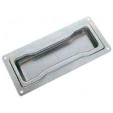Steel embedded handle