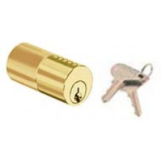 Round cylinder serreta key