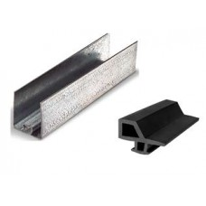Profile and rubber for panel side frame
